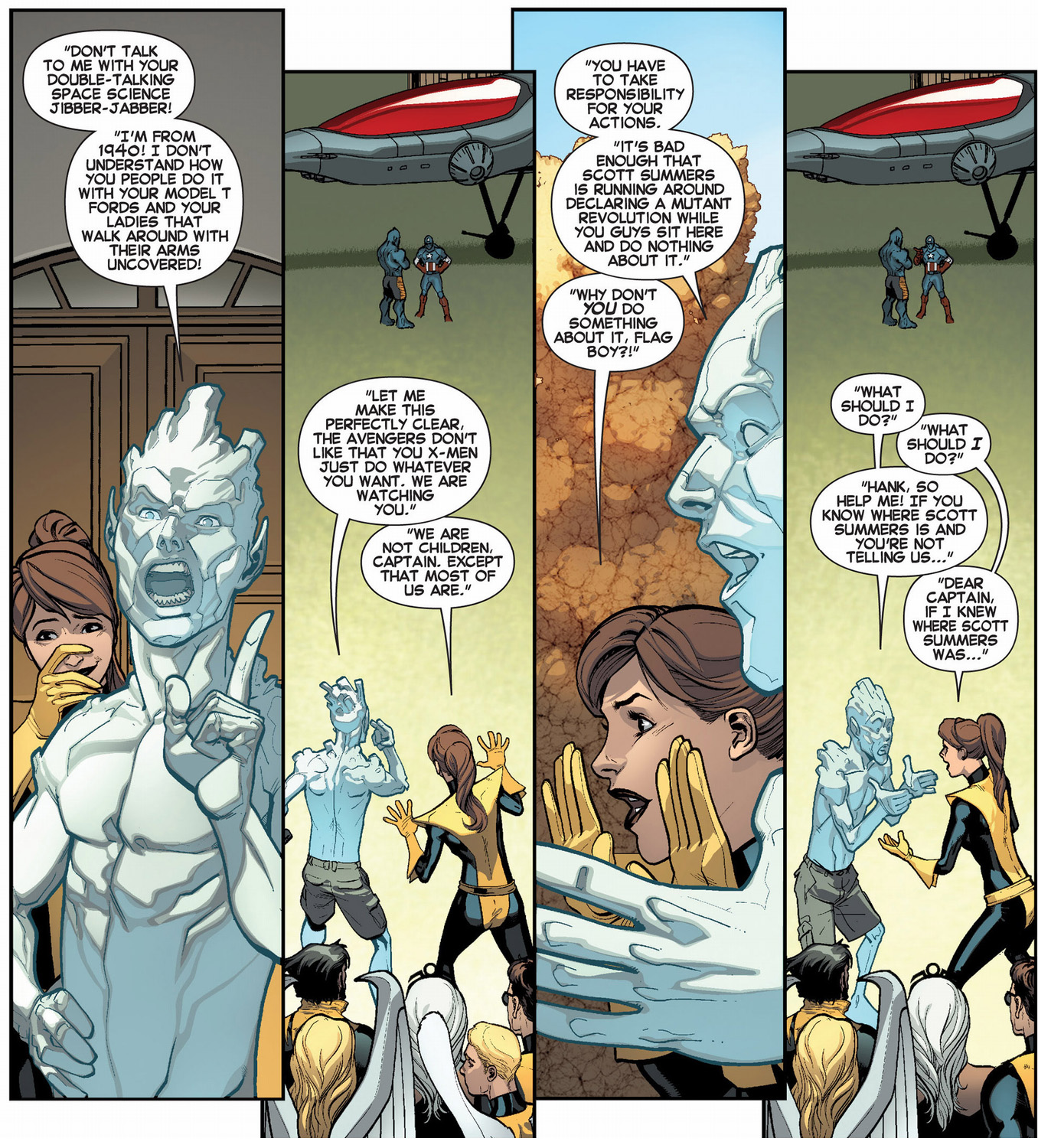 Iceman And Kitty Pryde's Mad Dubbing Skills | Comicnewbies