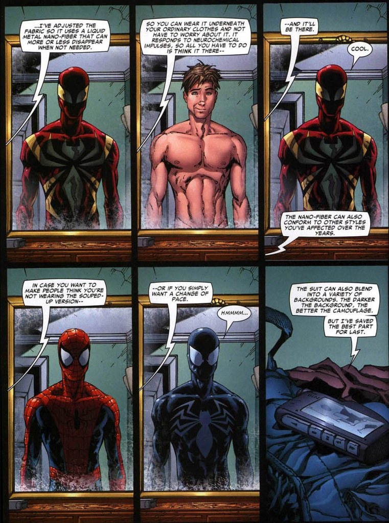 iron spider suit version 2