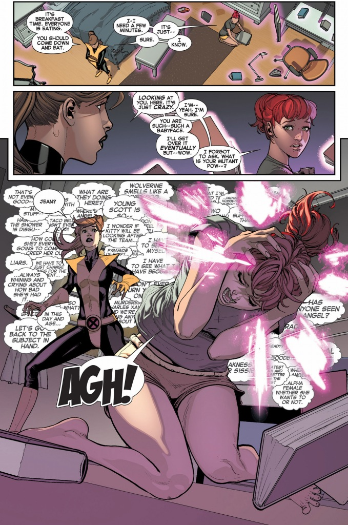 kitty pryde helps original 5 jean grey with her telepathy