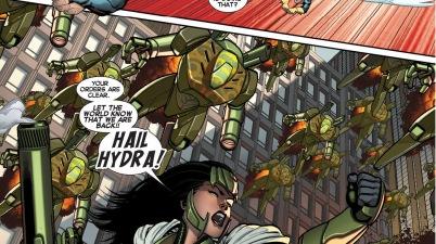 madame hydra attacks avengers tower