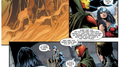 mister miracle meets the justice league (new 52)