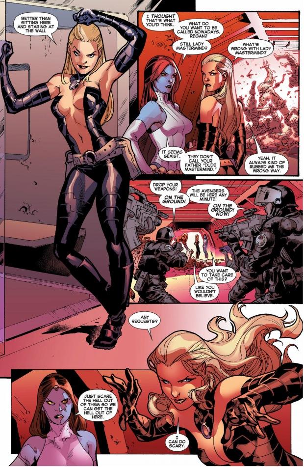 mystique recruits lady mastermind