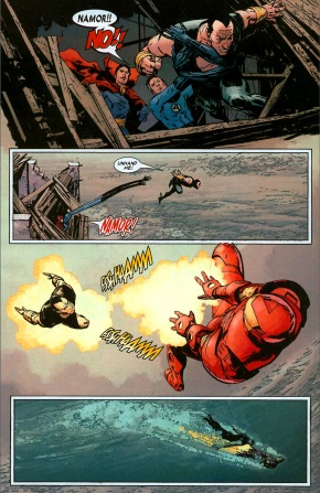 namor vs iron man