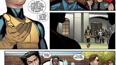 original 5 cyclops meets captain america