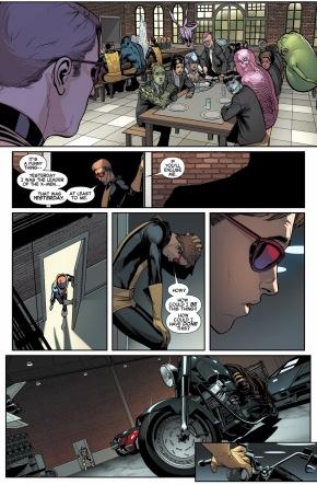 original 5 cyclops steals wolverine's motorcycle 1