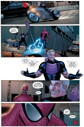 spider-man's selfless gesture to hawkeye