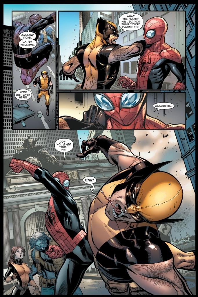 superior spider-man vs wolverine