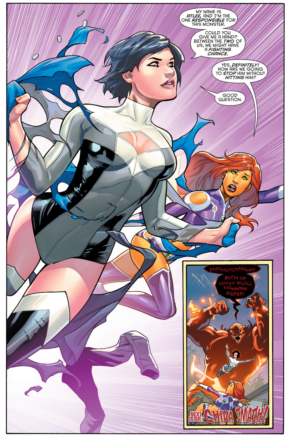 Terra (New 52)   Comicnewbies First Man And Woman On Earth