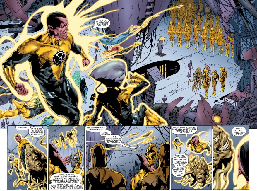 the sinestro corps own manhunters