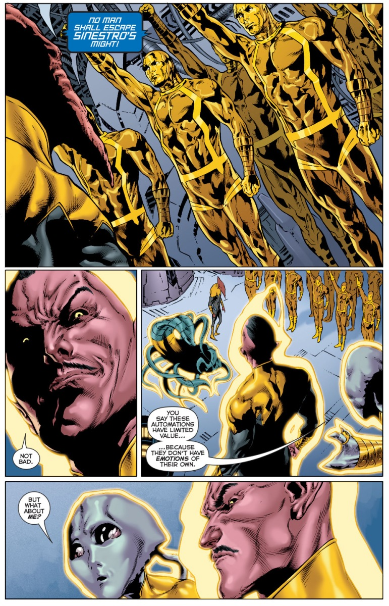 The Sinestro Corps Own Manhunters | Comicnewbies | 771 x 1200 jpeg 540kB
