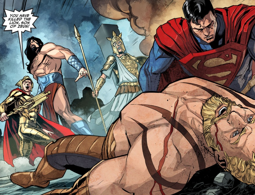 why superman was able to kill hercules