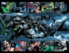 black lantern batman turns everyone into a black lantern