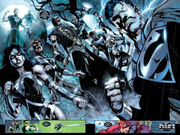 black lantern batman turns everyone into a black lantern