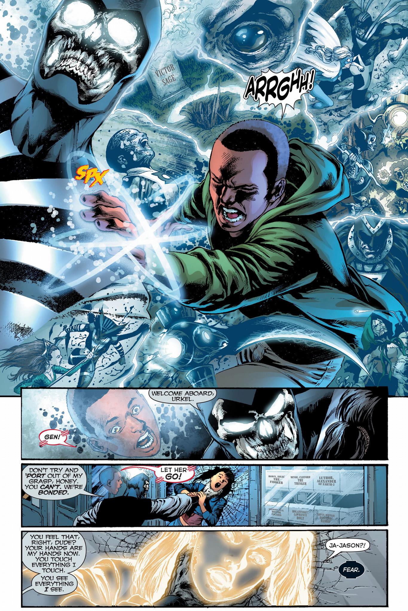 Black Lantern Firestorm Kills Gehenna Comicnewbies