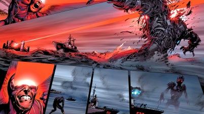 cyclops blasts the hellfire club sentinel