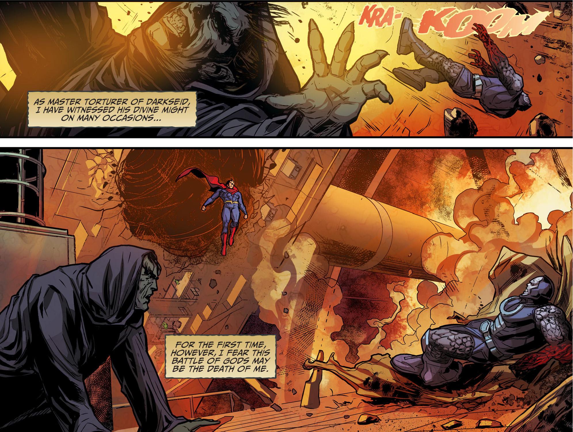 Darkseid VS Superman (Injustice Gods Among Us) | Comicnewbies