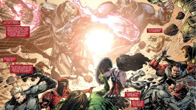darkseid vs the anti-monitor
