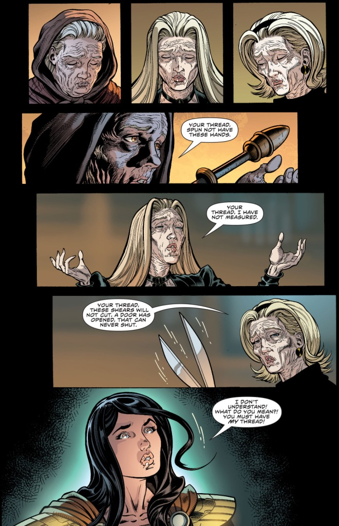 donna troy visits the fates