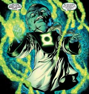 ganthet rejoins the green lantern corps