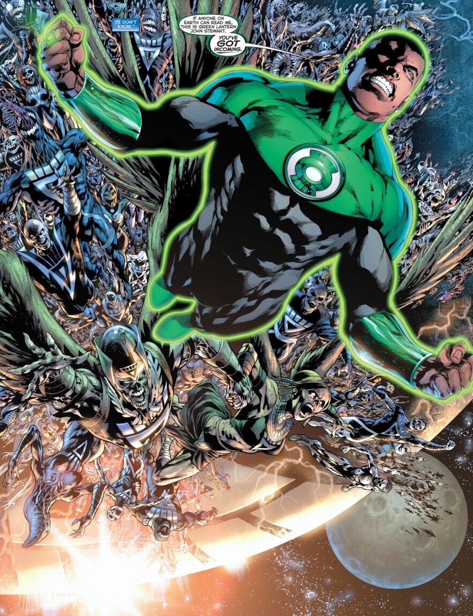 green lantern stewart blackest comicnewbies