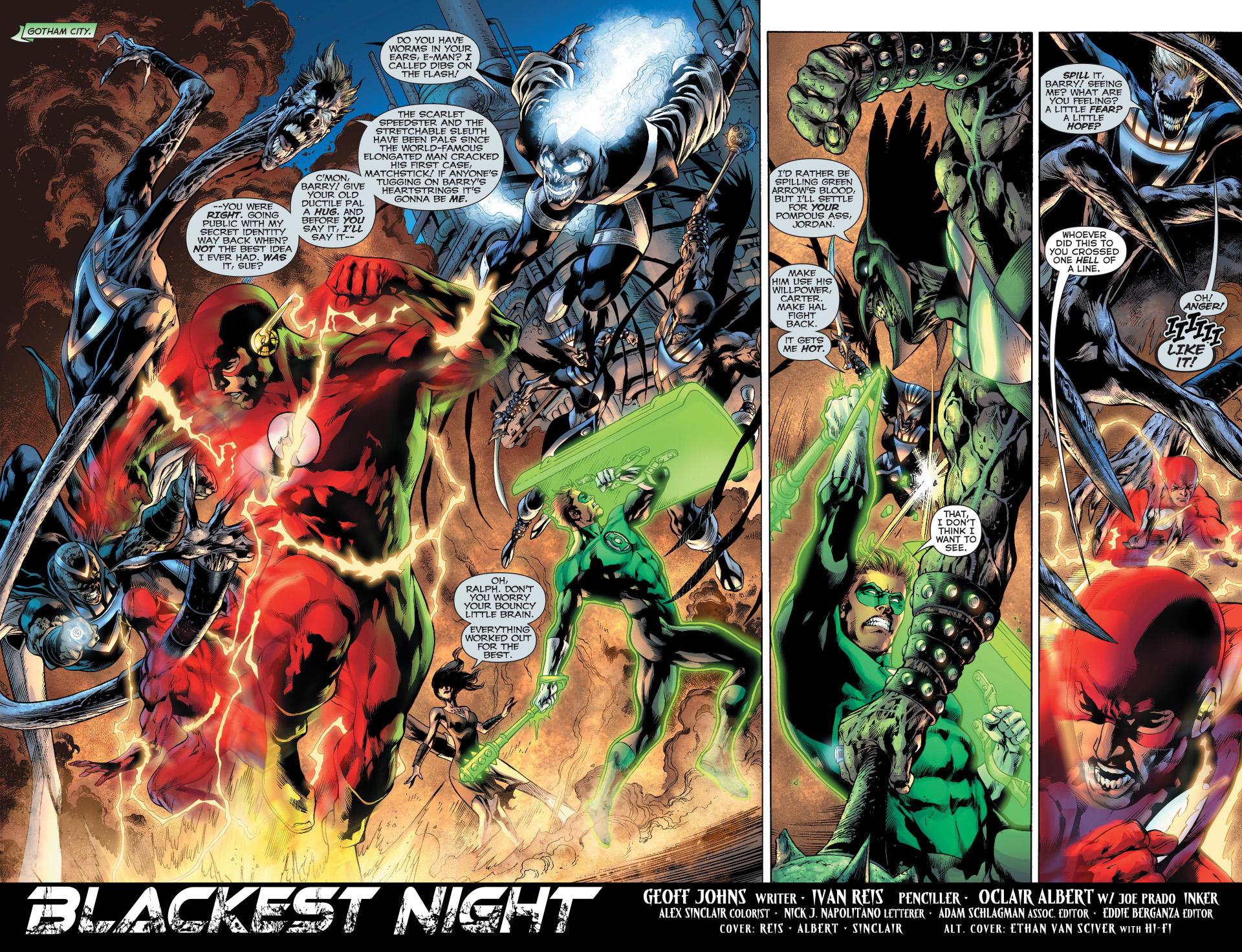 Green Lantern, ...