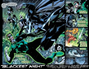 green lantern vs black lantern superman