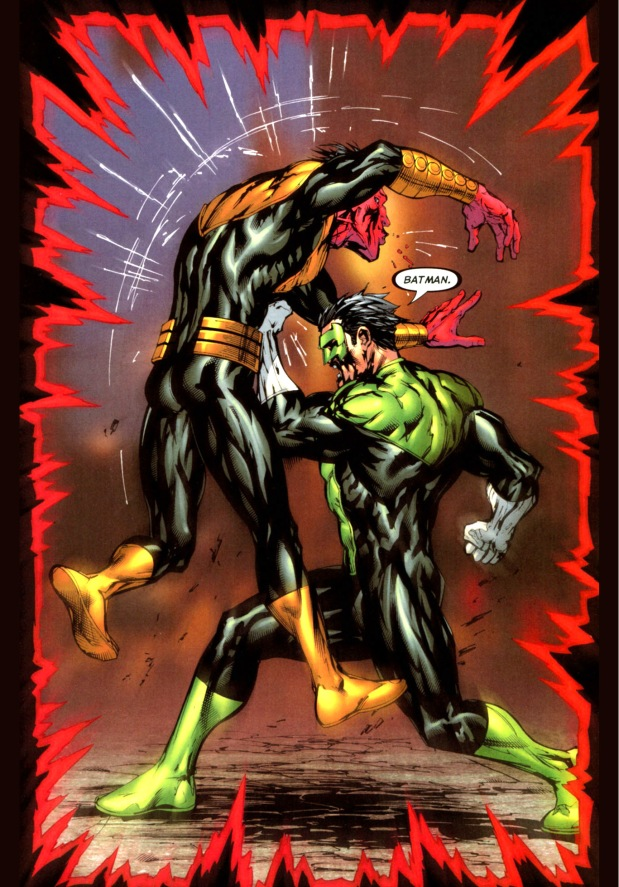 Green Lantern VS Sines...