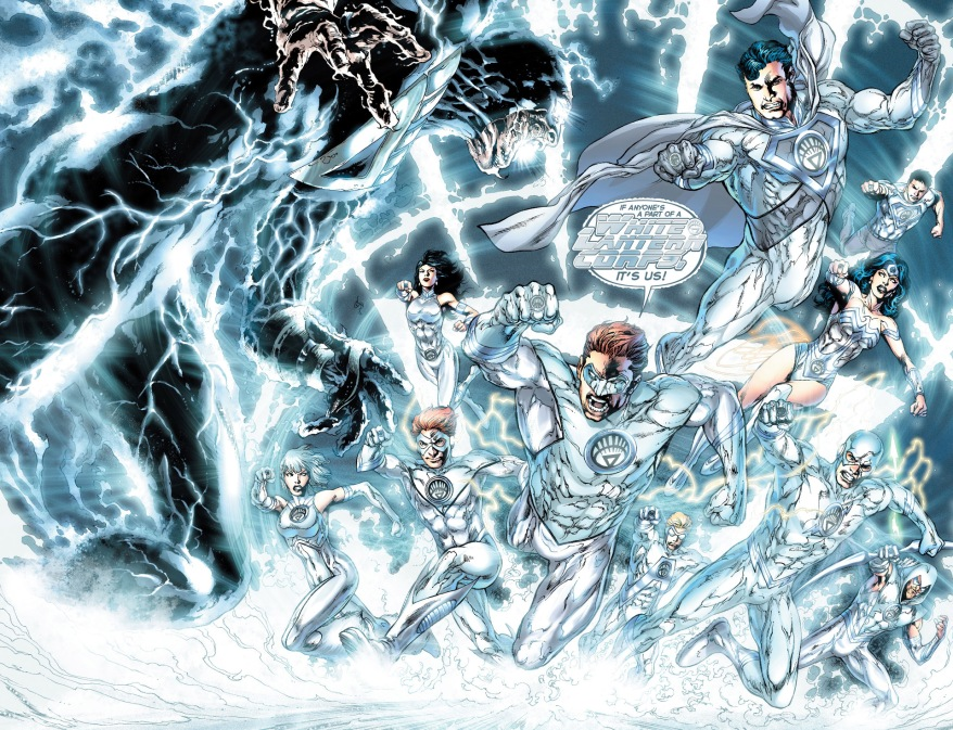 hal jordan and the white lantern corps