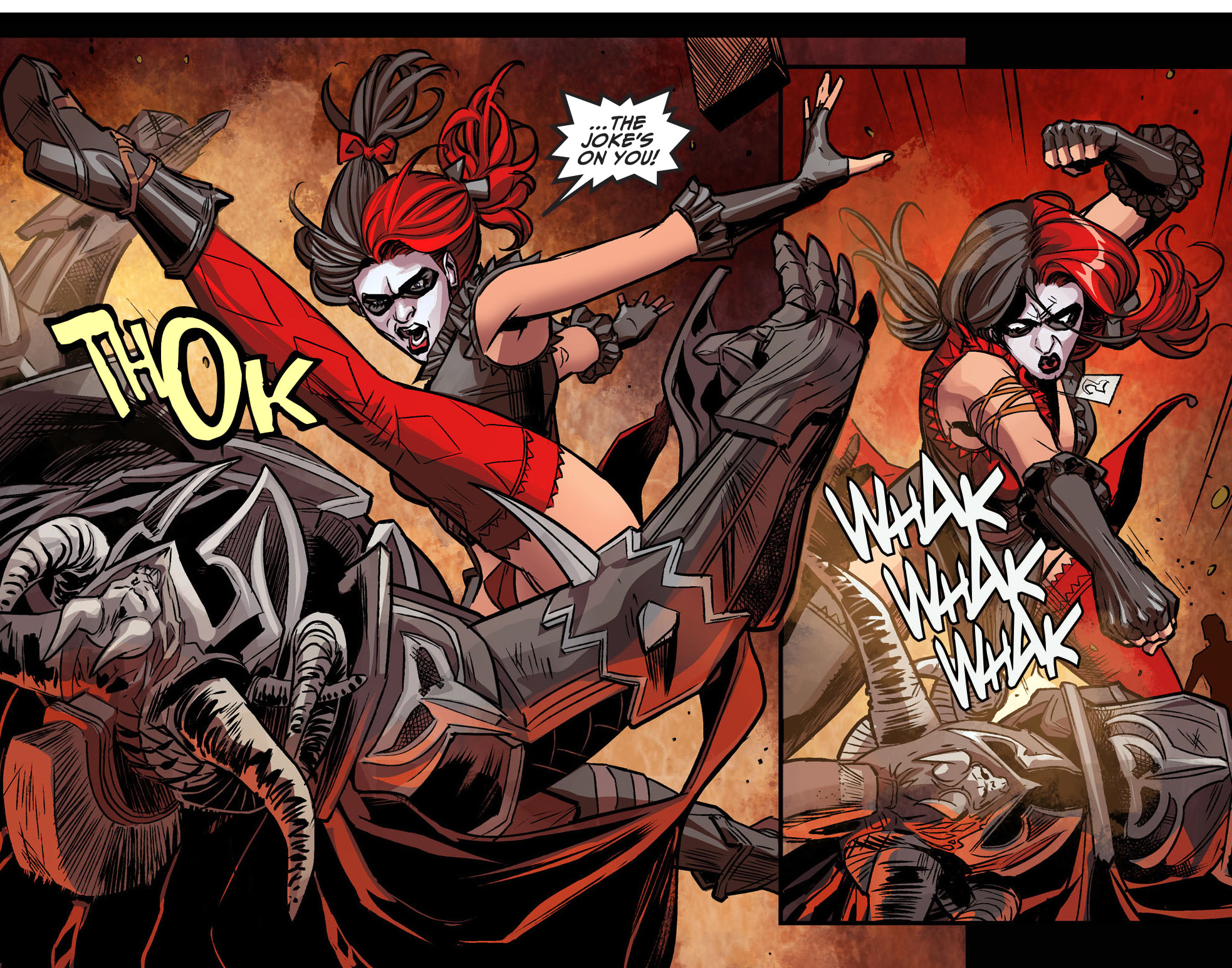 Harley Quinn VS Ares  Injustice Gods Among Us    Comicnewbies