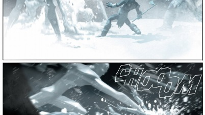 how iceman and thor defeated the frost giants