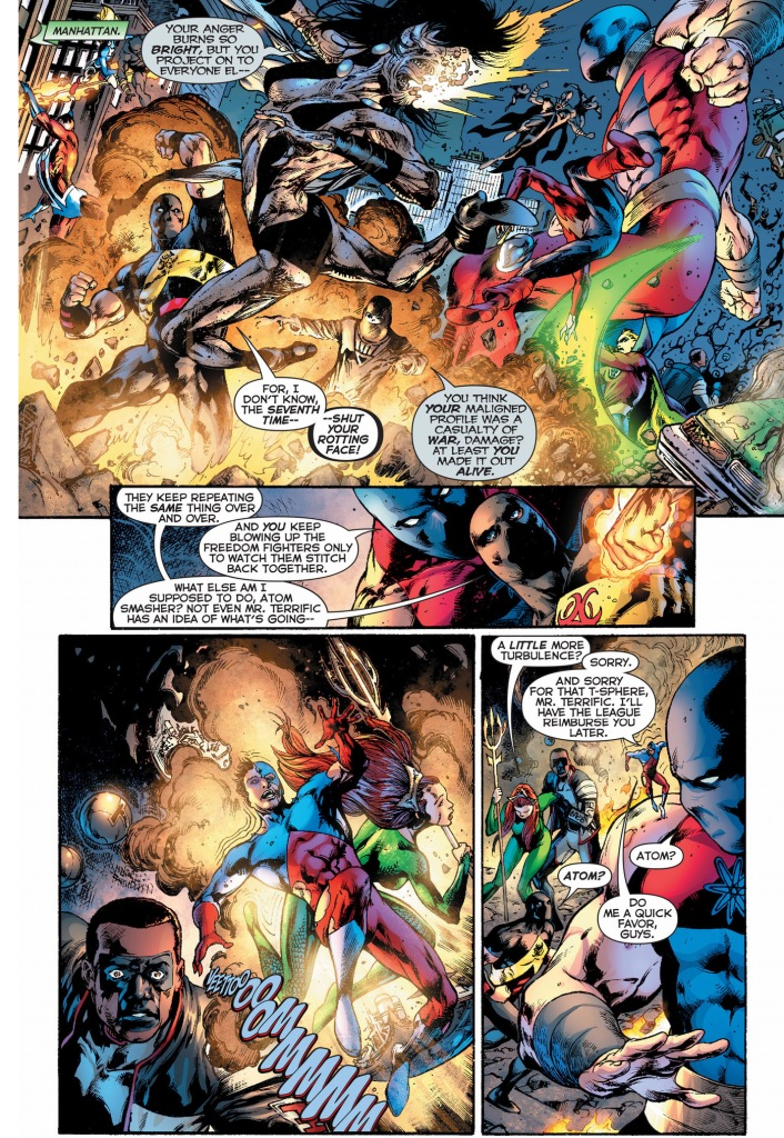 justice society of america vs black lanterns