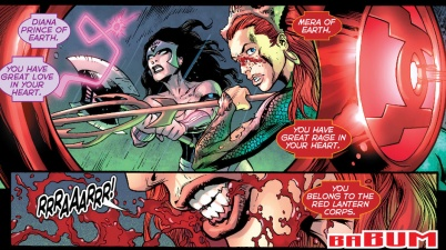 mera joins the red lantern corps