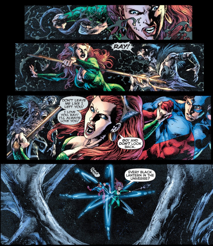 mera takes out black lantern jean loring
