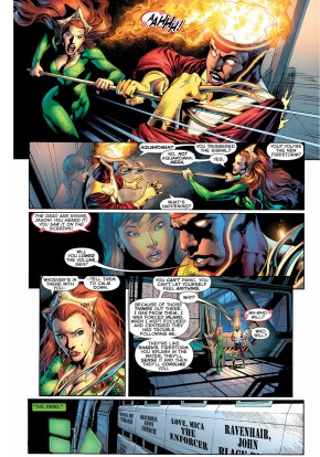 mera's theory on the black lanterns