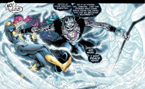 nekron separates sinestro from the entity