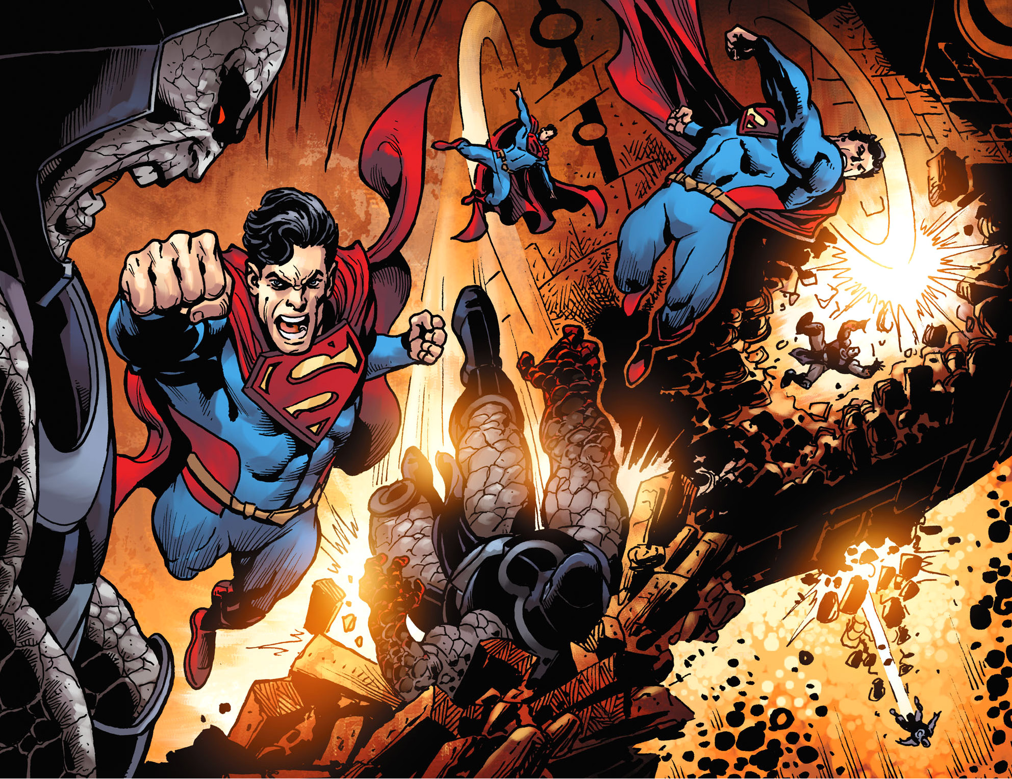 Superman VS Darkseid (Injustice Gods Among Us) | Comicnewbies