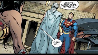 superman vs zeus (injustice gods among us)