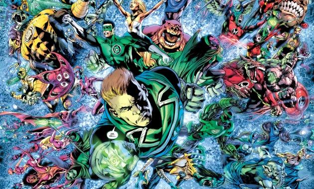 the 7 lantern corps unite