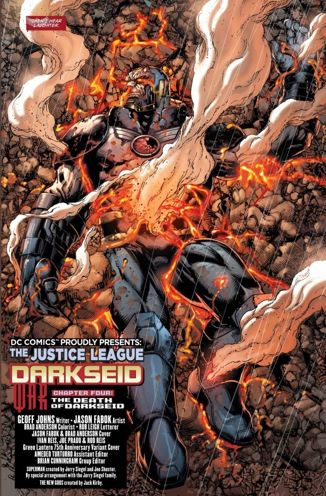 the anti-monitor and death attacks darkseid