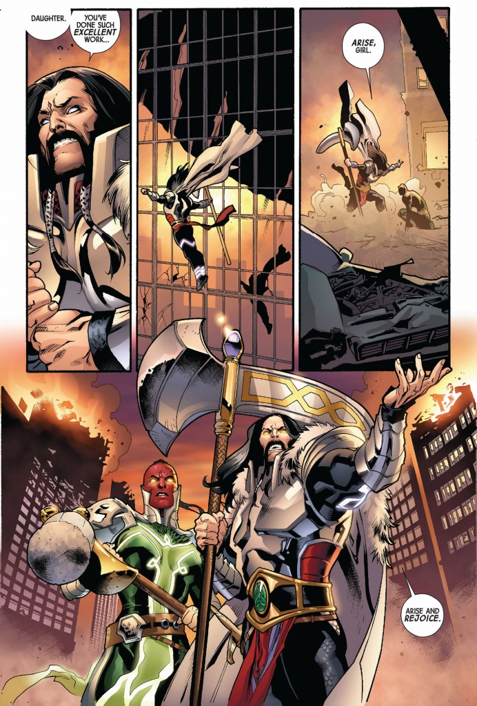 the serpent and skadi vs the avengers