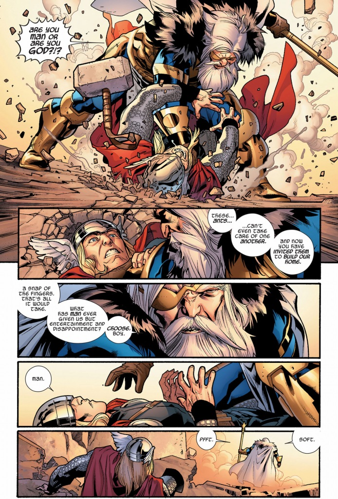 thor chooses man over gods