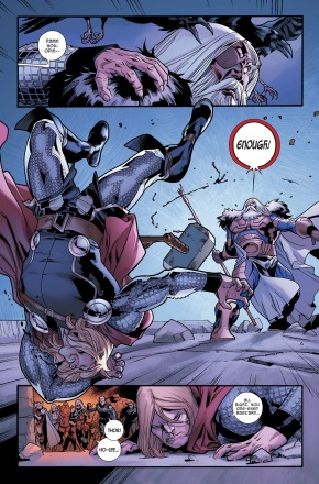 thor vs odin (fear itself)