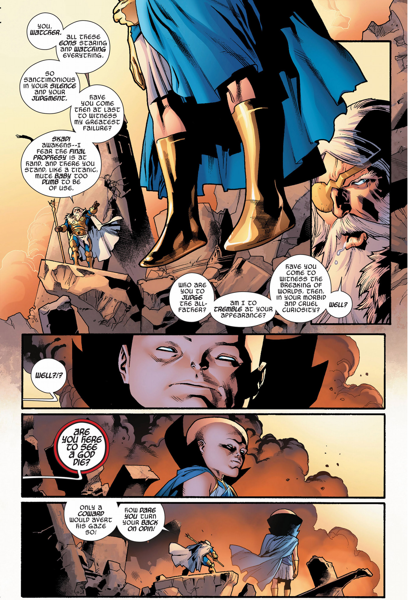 Uatu The Watcher Quotes