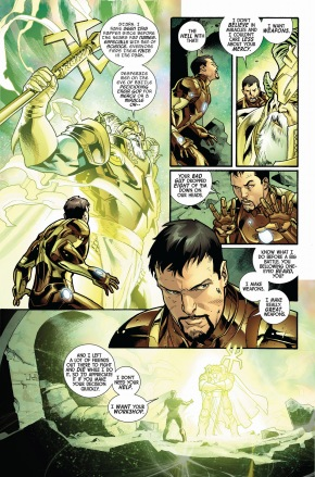 what iron man demanded from odin