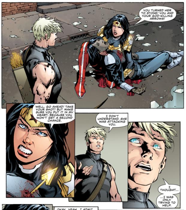 Aegus Kills Donna Troy