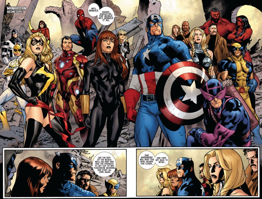 avengers and new avengers (fear itself)