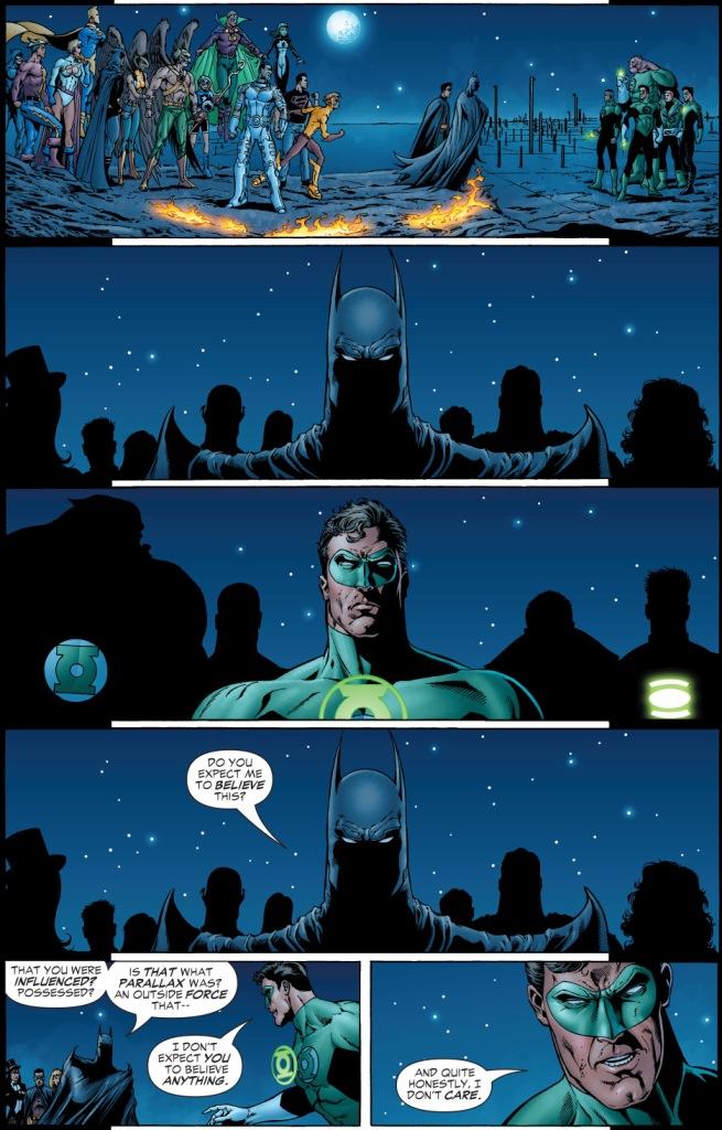 batman welcomes hal jordan back