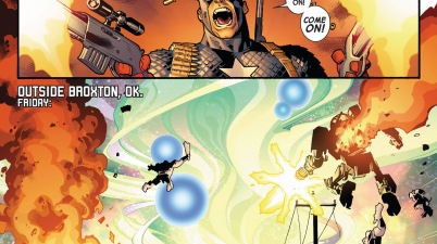 captain america takes on the serpent's army