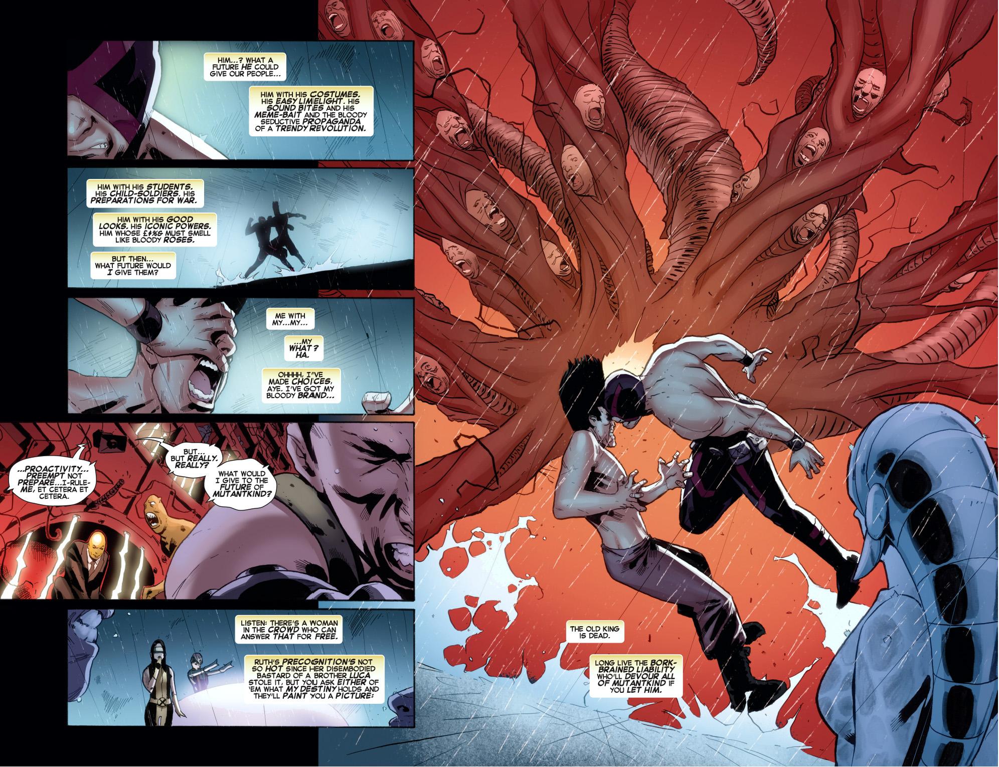 Cyclops VS Legion   Comicnewbies