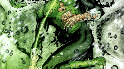 death of kyle rayner (blackest night)